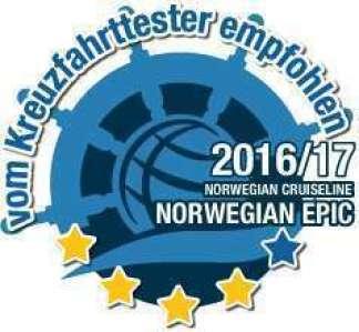 Norwegian Epic Test bstanden
