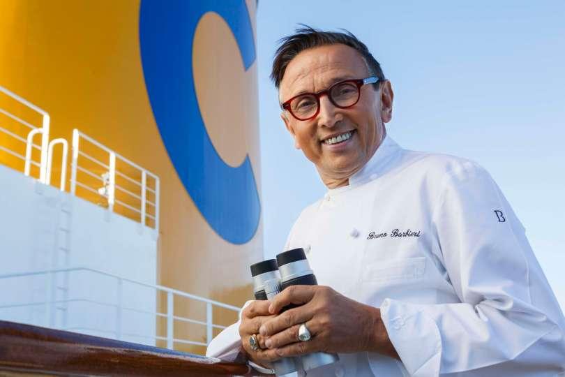 Starkoch Bruno Barbieri kocht für Costa Crociere