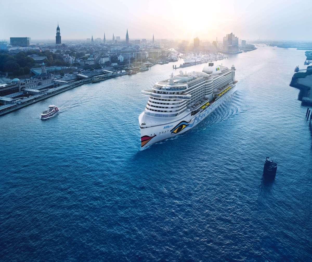 Achtung Reisehinweis zum AIDAperla Anlauf Hamburg 17.3.