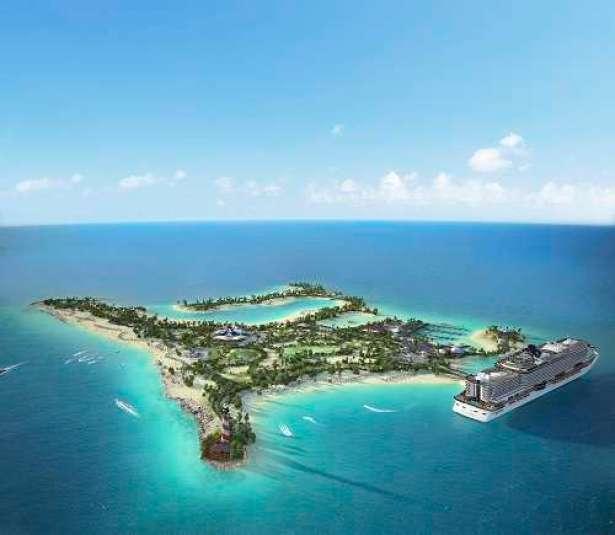 Ocean Cay MSC Privatinsel