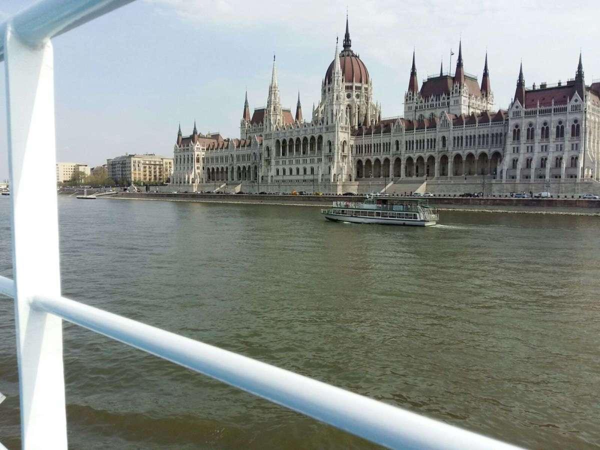 MS VistaFidelio Teil 3 - Budapest mit dem Drahtesel