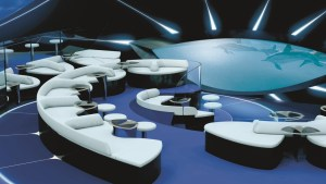 PONANT - Underwater Lounge Blue Eye (c) Ponant - Jacques Rougerie Architecte