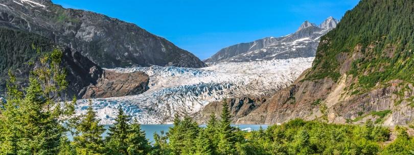 Juneau, Alaska. Mendenhall Glacier