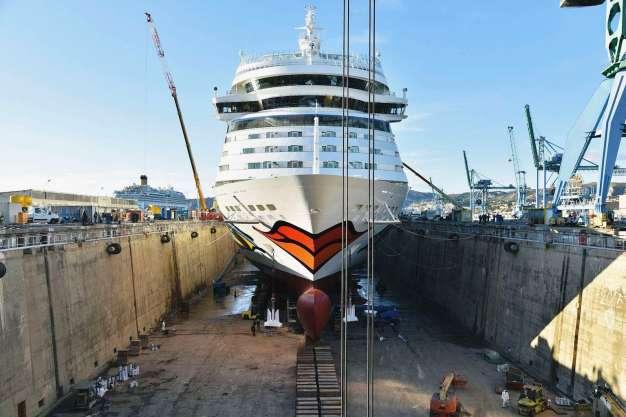 AIDAblu_Werft