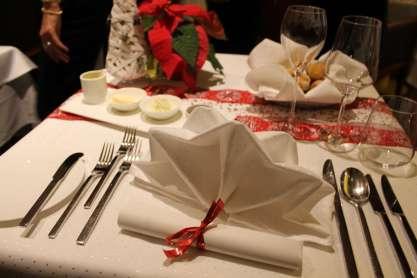 Weihnachtsmenü im Selection Restaurant