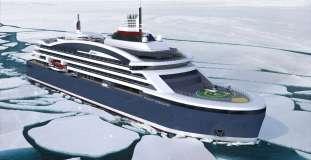 Ponant Icebreaker in Fahrt (c) Ponant - Stirling Design International