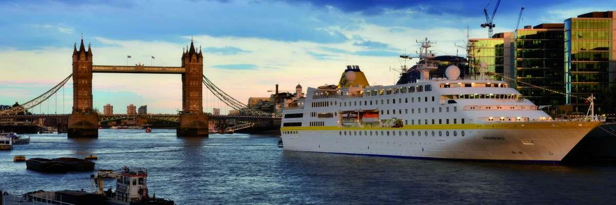 Kleinstes Kreuzfahrtschiff Deutschlands mit neuen Routen