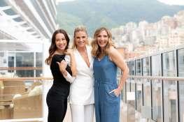 Michelle Hunziker, Lorella Cuccarini and Aurora Ramazzotti