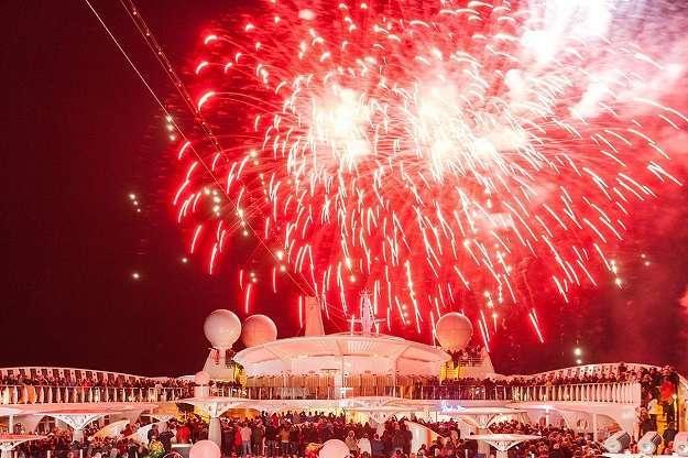, Weihnachten und Silvester an Bord von AIDA