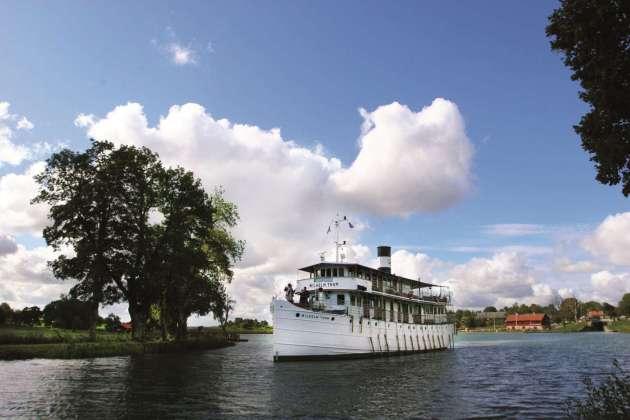 , Auf dem Göta-Kanal durch Südschweden