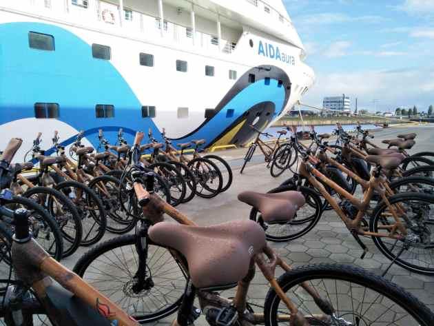 AIDA Cruises Bambusräder