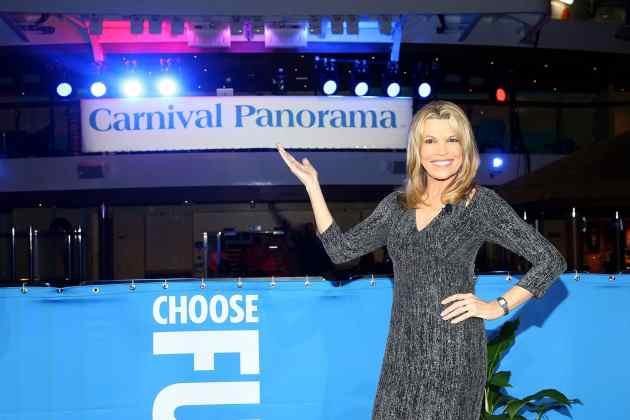 carnival panorama, Carnival Panorama getauft von Vanna White