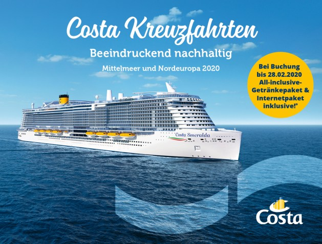 Costa  Premium-Getränkepaket