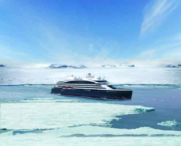 Ponant Antarktis