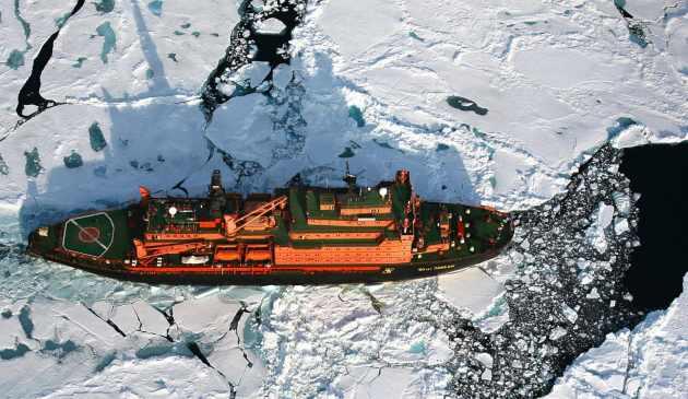 Eisbrecher & Nordpol, Eisbrecher & Nordpol mit Poseidon Expeditions