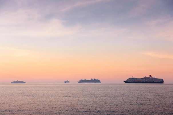 Cunard Betriebspause