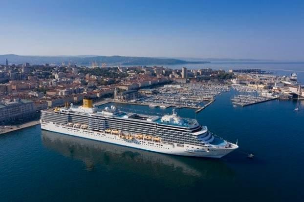 Costa Kreuzfahrten Neustart Triest