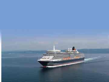 Queen-Elizabeth-auf-See