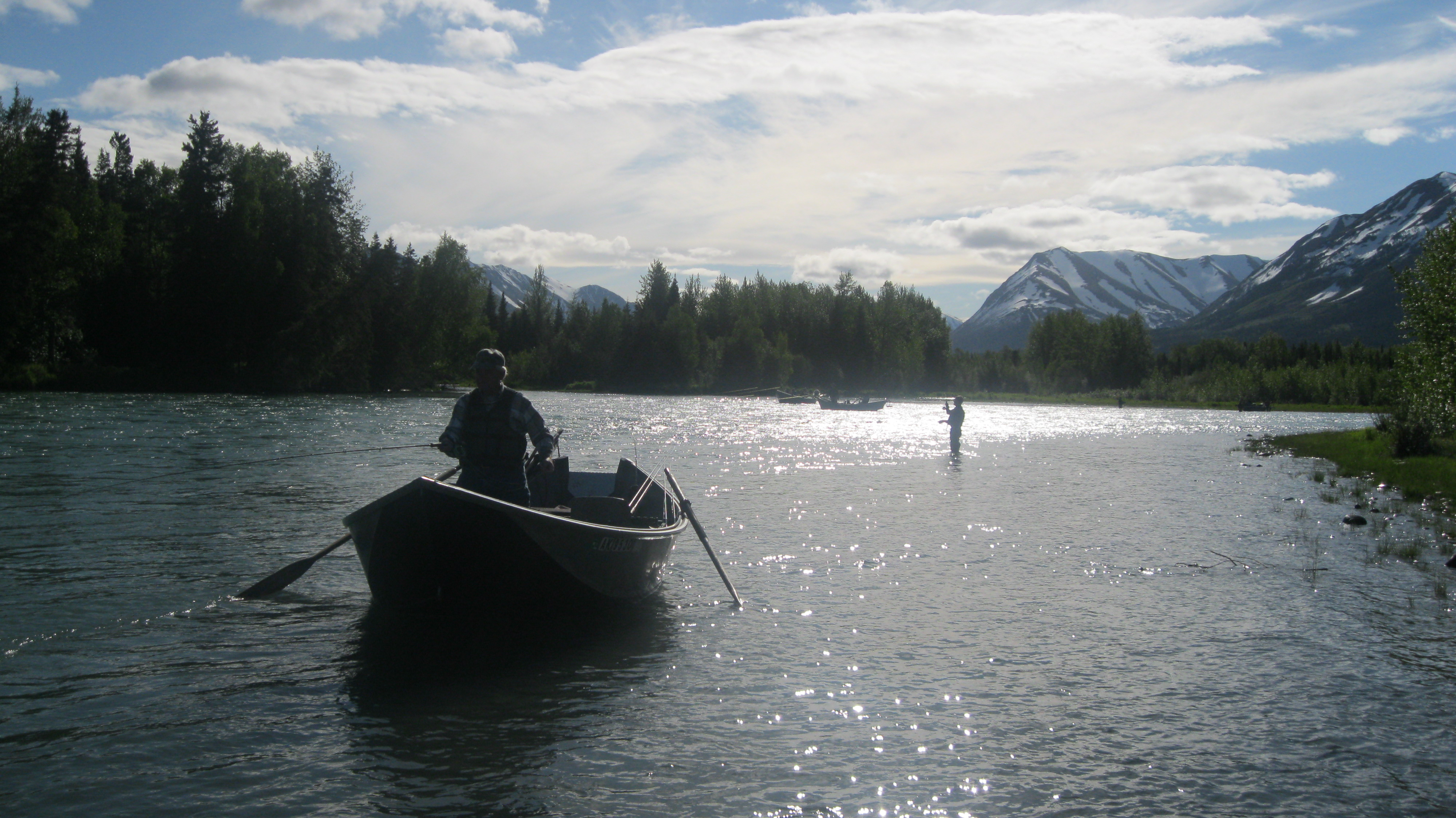 Kenai river fly fishing guided alaska fly fishing for Kenai river fishing lodges