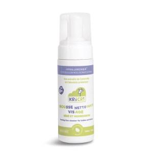 Mousse nettoyante visage bébés et nourrissons 150 ml