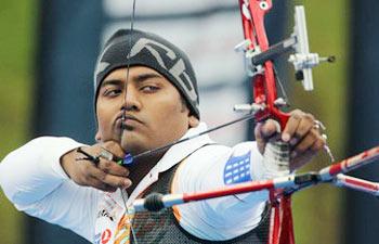 Rajat Chauhan in World Archery