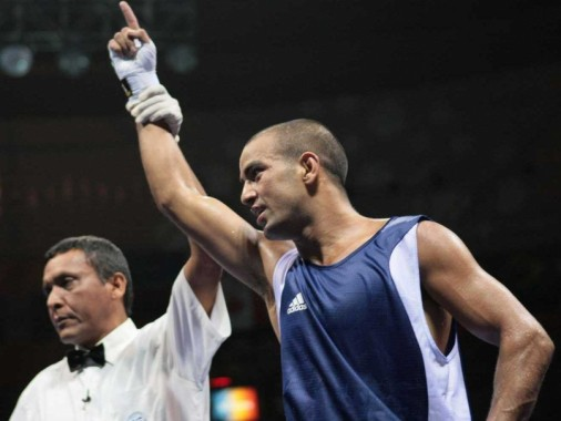 Incheon indian boxer