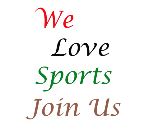 join us we love sports