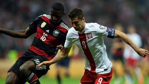 German defeat in Poland stirs interest in Euro 2016 qualifiers