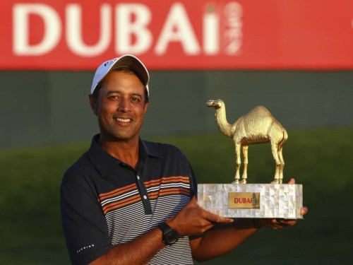 Arjun Atwal golf dubai open