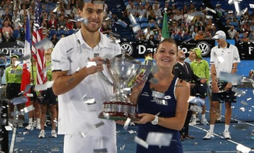 2014 Finalist Poland Come Good in 2015 and Win Hopman Cup from USA at Perth