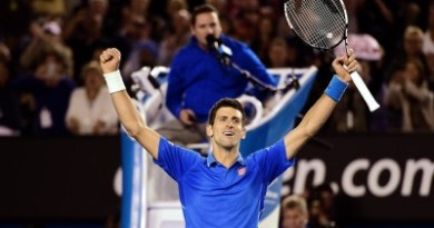 Djokovic Beats Murray