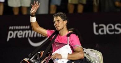 Fabio Fognini sent Rafael Nadal crashing