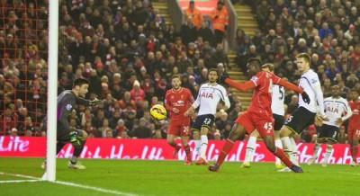 Premier League goal for Liverpool