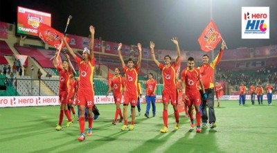 Ranchi Rays are the Champions of Hero Hockey India League