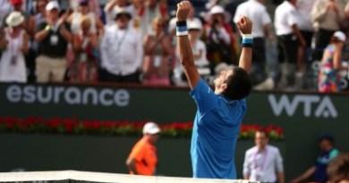 Djokovic 2015 BNP PARIBAS OPEN