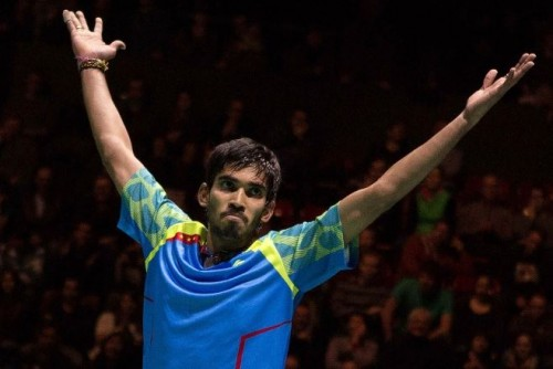 Kidambi Srikanth Is the First Ever Indian Man to Win Swiss Open Grand Prix Gold