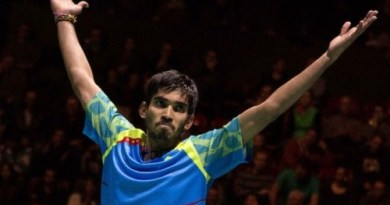 Grand Prix Gold Kidambi Srikanth