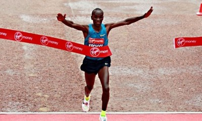 Kipchoge London marathon