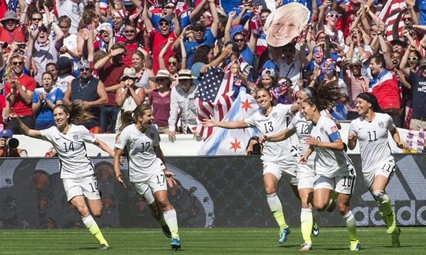 Carli Lloyd Supreme in USA team