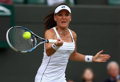 Radawanska in Wimbledon