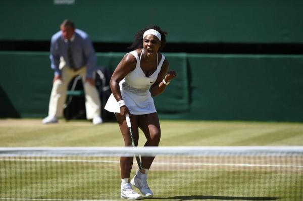Serena Williams vs Muguruza Wimbledon final