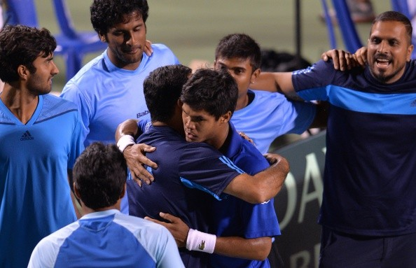 World Group Play-off  India