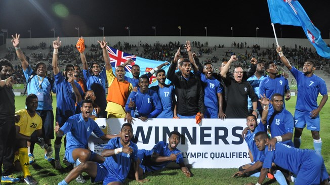 Fiji Make Football History
