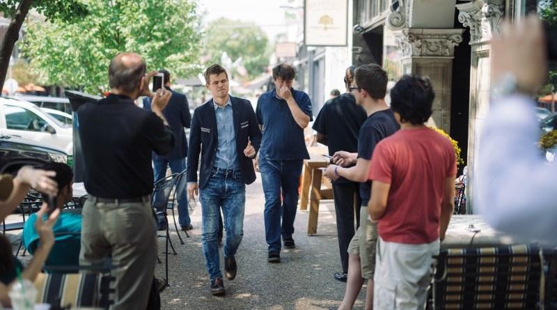 Magnus Carlsen Sinquefield Chess