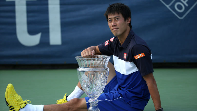 Nishikori Takes Washington Singles