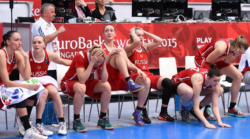 Russian Women Basketball Team