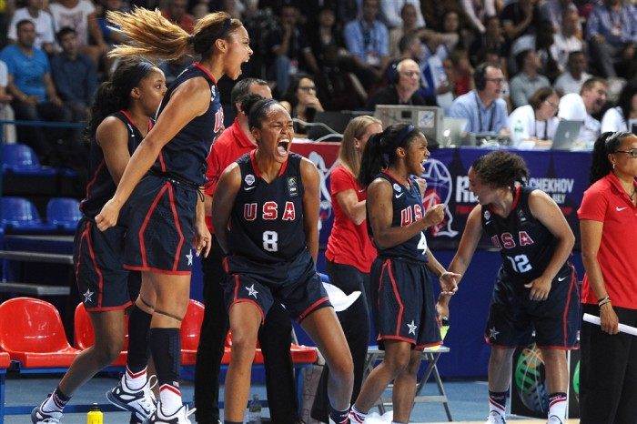 USA Win FIBA U-19 Women World Basketball