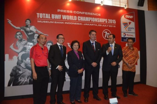 World Badminton Championship 2015