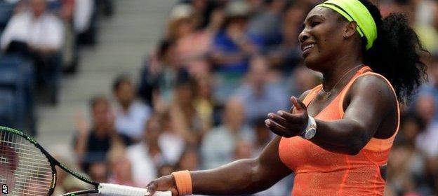 Serena US open