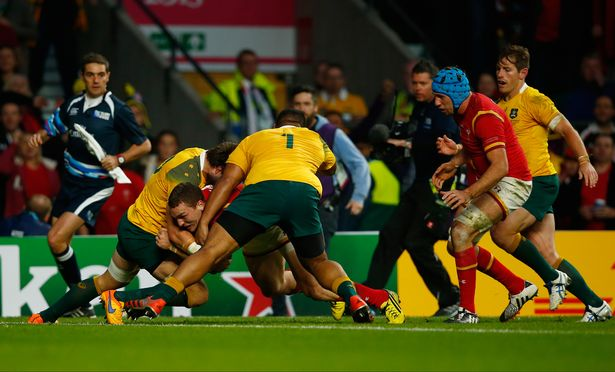 AUS vs Wales  Rugby